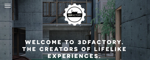 3d factory homepage banner